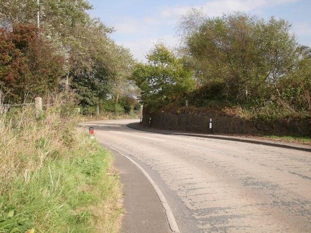 Bend in Billinge Road