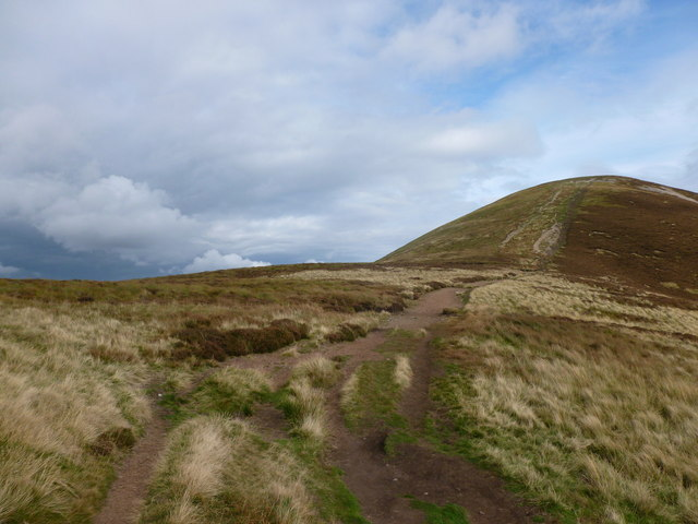 Eroded path on Carnethy Hill