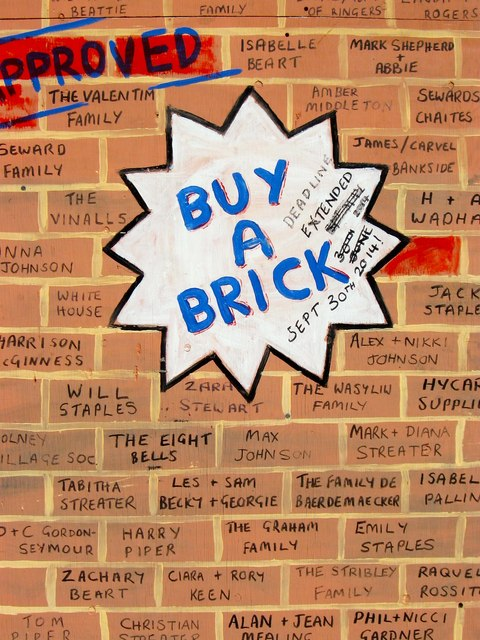 Rawson Hall's Buy-a-Brick Campaign, Batchelors Field, Bolney (1)