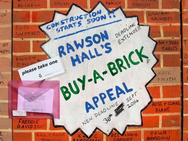Rawson Hall's Buy-a-Brick Campaign, Batchelors Field, Bolney (2)