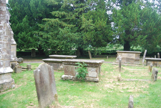 Chest tombs, Parish Church of St Peter