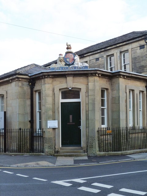Entrance, Old Court House, Skipton