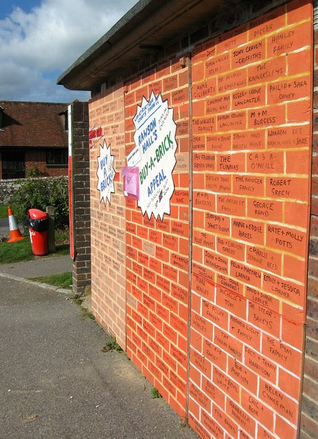Rawson Hall's Buy-a-Brick Campaign, Batchelors Field, Bolney (3)