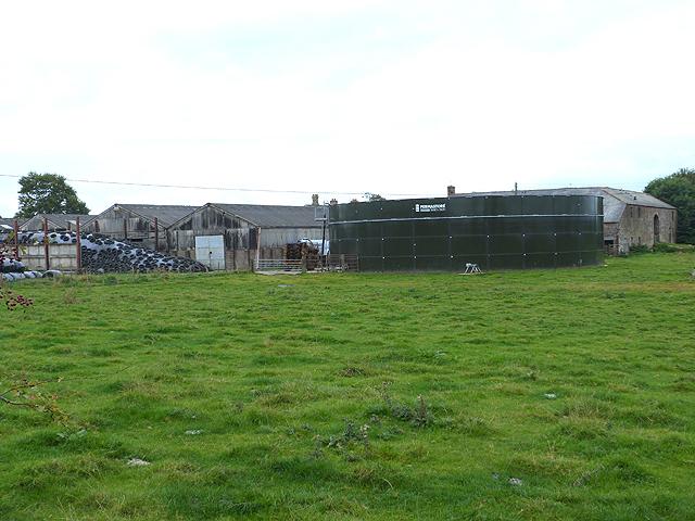 Farm buildings at Crewgarth