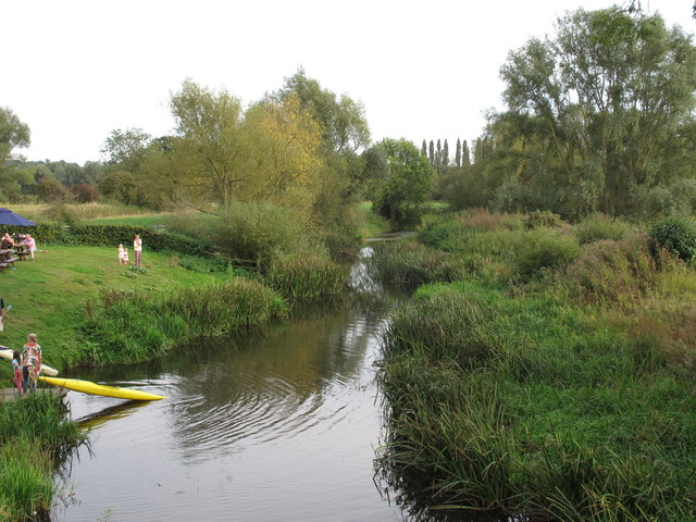 The River Stour from Nayland Bridge
