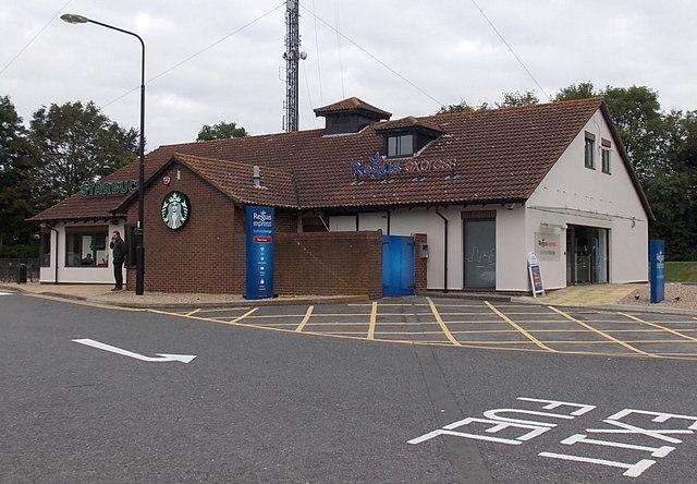 Regus Express Business Lounge at Membury Services