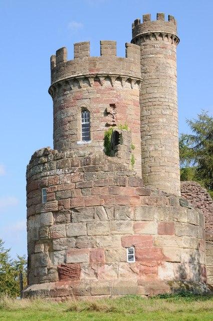 Castle in Hagley Park