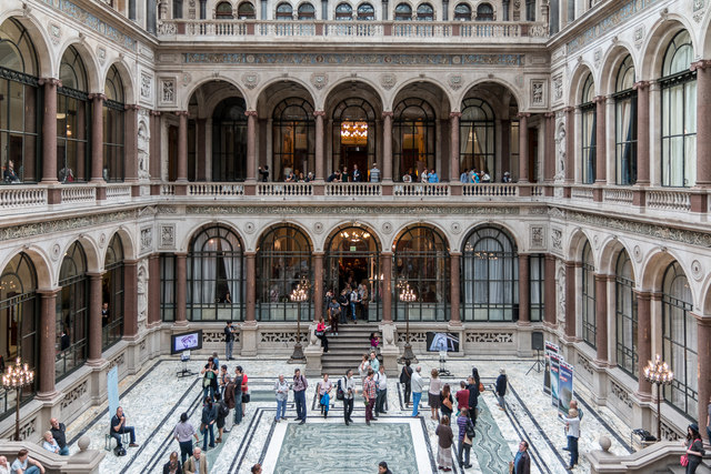 Courtyard, Foreign and Commonwealth Office, King Charles Street, London SW1