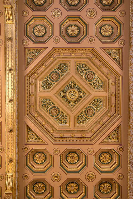 Ceiling Foreign and Commonwealth Office, King Charles Street, London SW1