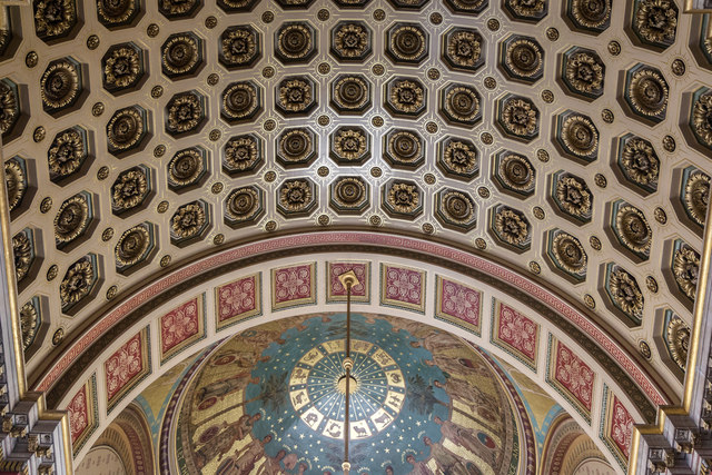 Ceiling, Foreign and Commonwealth Office, King Charles Street, London SW1