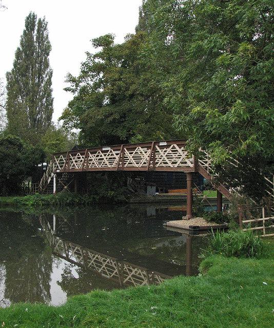 Coe Fen: Crusoe Bridge