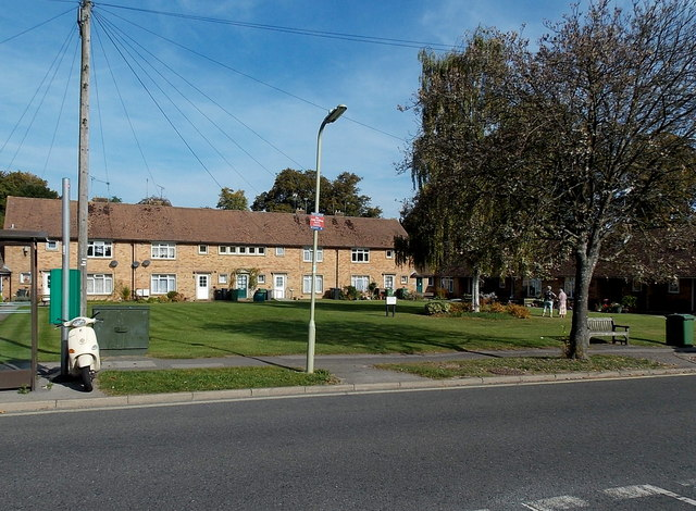 Cromwell Road flats in Stanmore, Winchester
