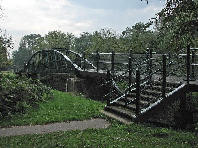 Renovated Sheep's Green Footbridge
