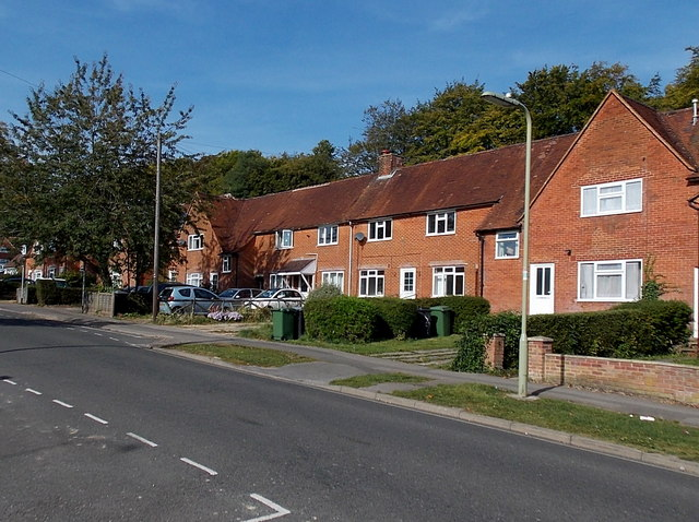 Cromwell Road houses in Stanmore, Winchester