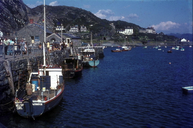 Fishing boats by the quay