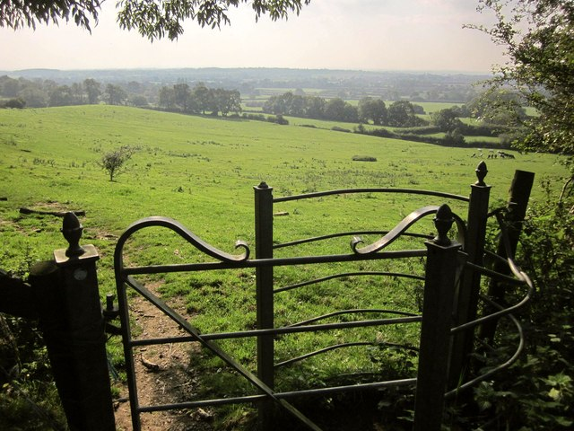 Gate on Cotswold Way