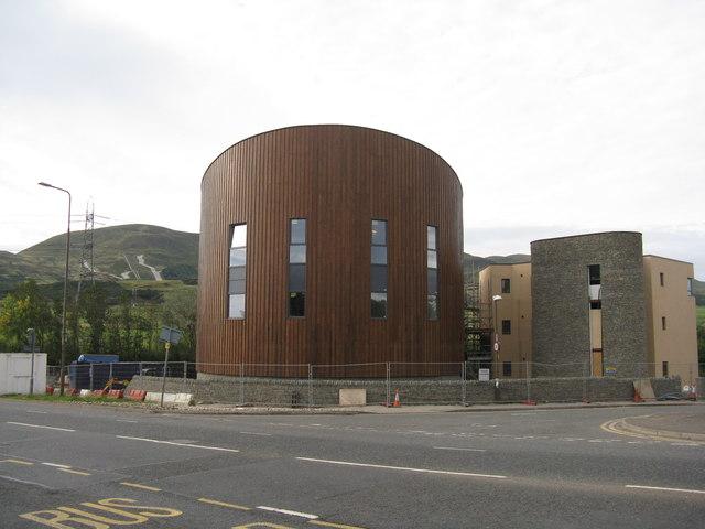 New building at Fairmilehead