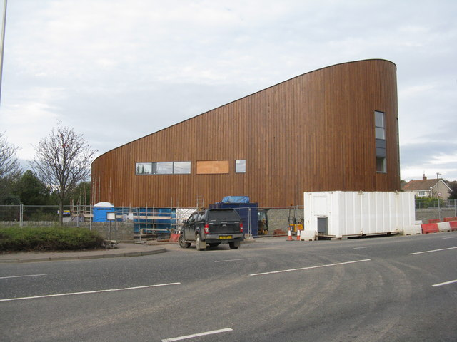 New building at Lothianburn