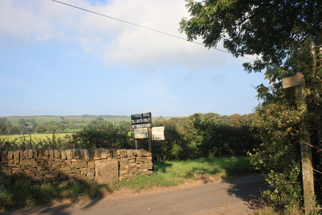Entrance to Stockmeadows Farm
