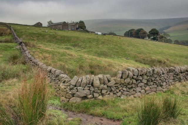 Dry Stone Wall Corner