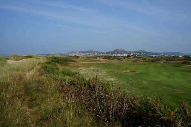 Wales  Coast Path at Conwy Golf Club