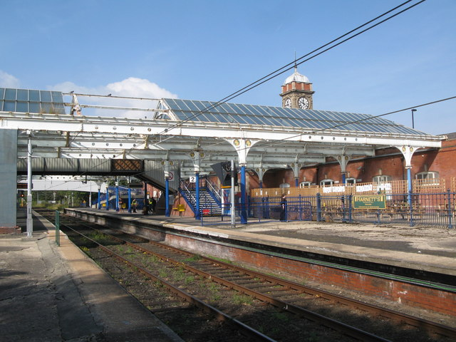 Whitley Bay Metro station