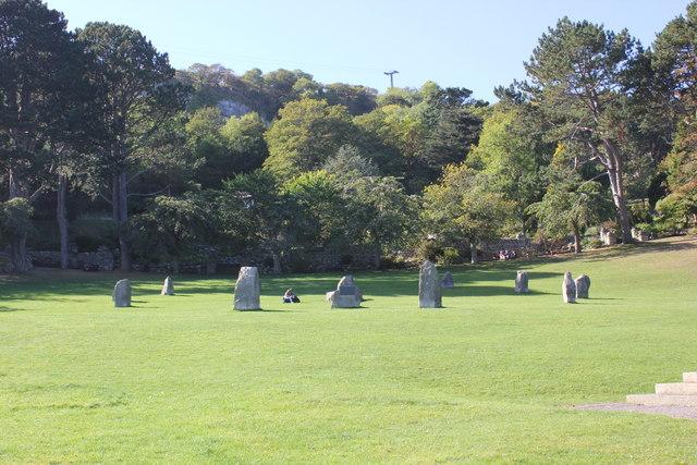 The Stone Circle, Happy Valley, Llandudno