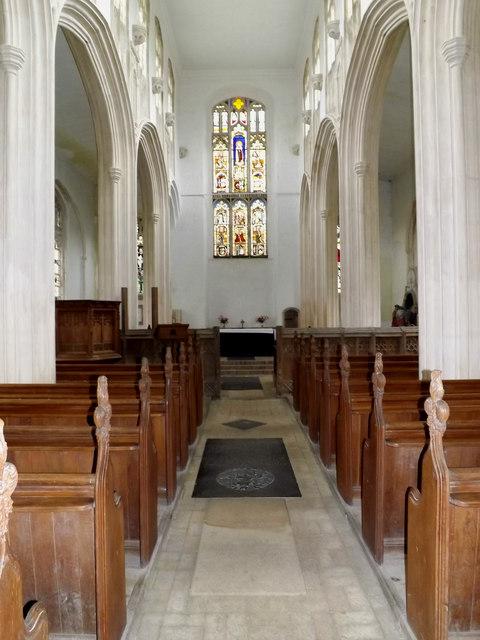 Inside of St.Mary's Church