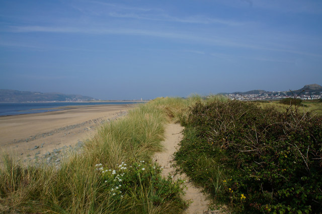 Wales  Coast Path towards Conwy