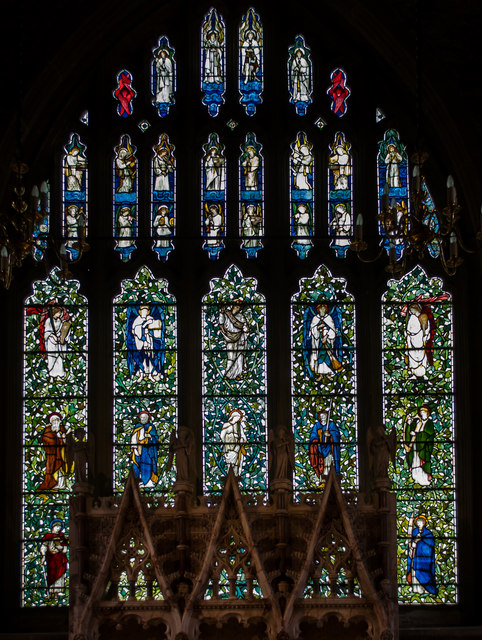 East Window, St Denys church, Rotherfield