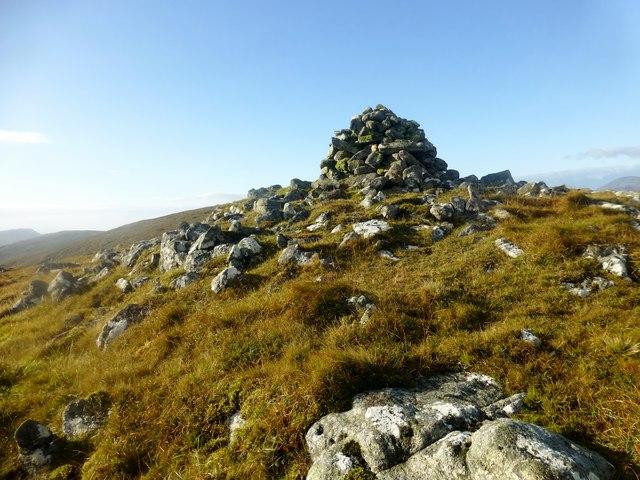 Cairn On The NNE Flank Of Mòr Mhonadh
