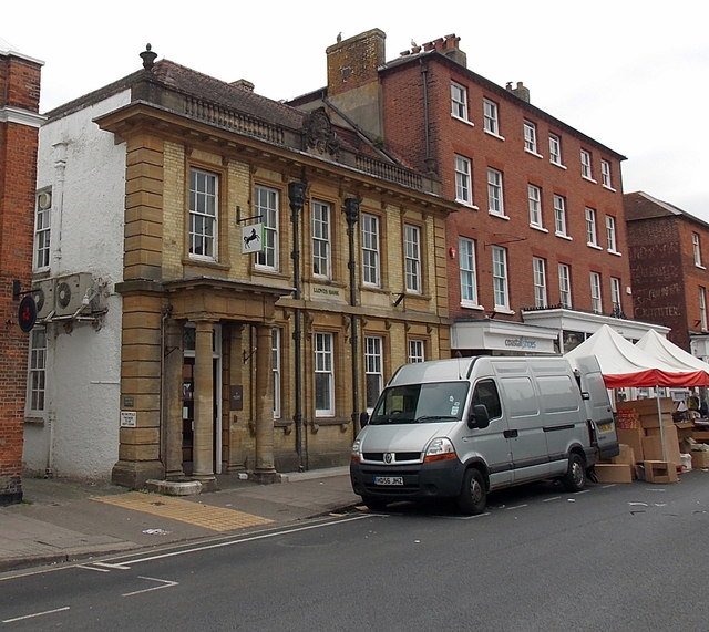 Lloyds Bank in Lymington