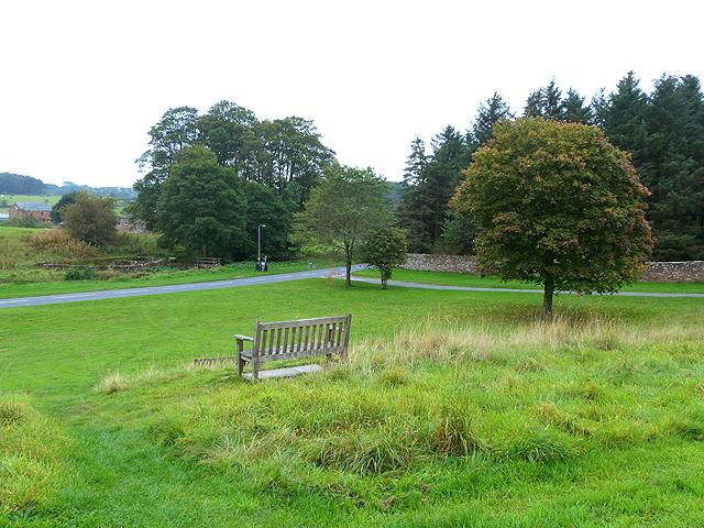 Village green at Melmerby
