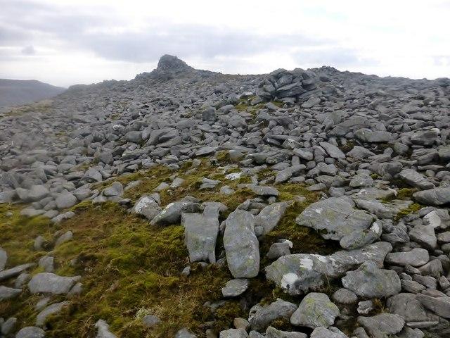 Rocky Summit Of Beinn Mhòr
