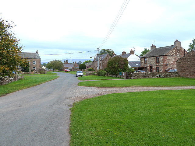 Village green, Gamblesby