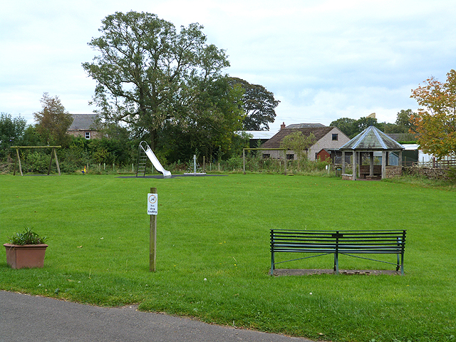 Recreation ground at Ousby