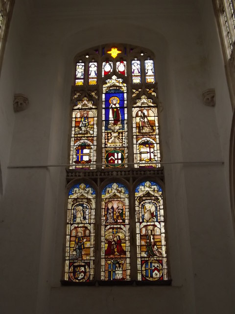 Stained Glass Window of St.Mary's Church