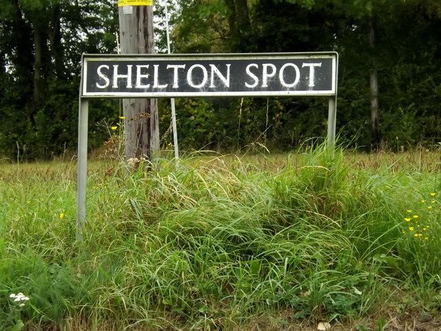 Shelton Spot sign