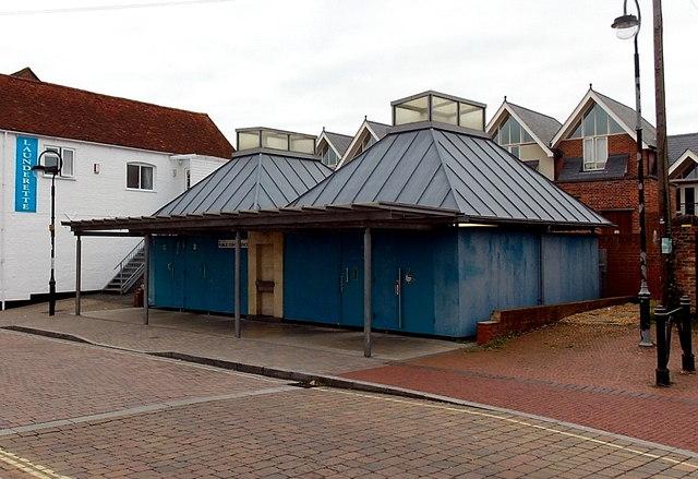 New Street public conveniences in Lymington