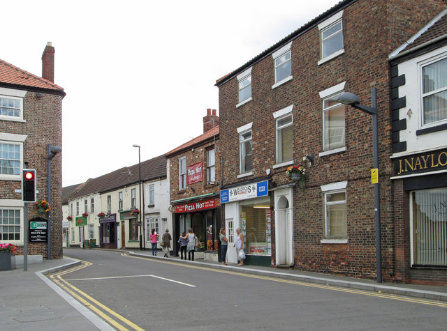 Crowle - High Street north of Market Place