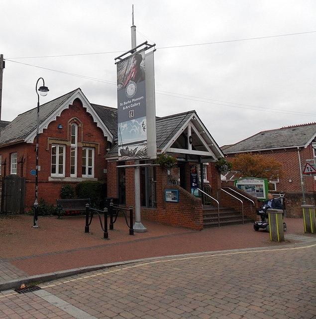 St Barbe Museum & Art Gallery in Lymington