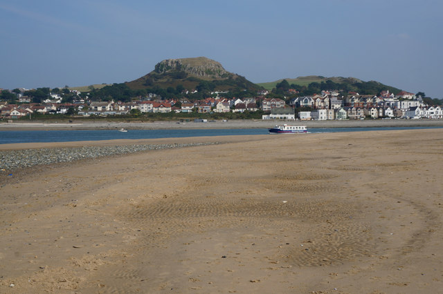 Deganwy and The Vardre (hill)