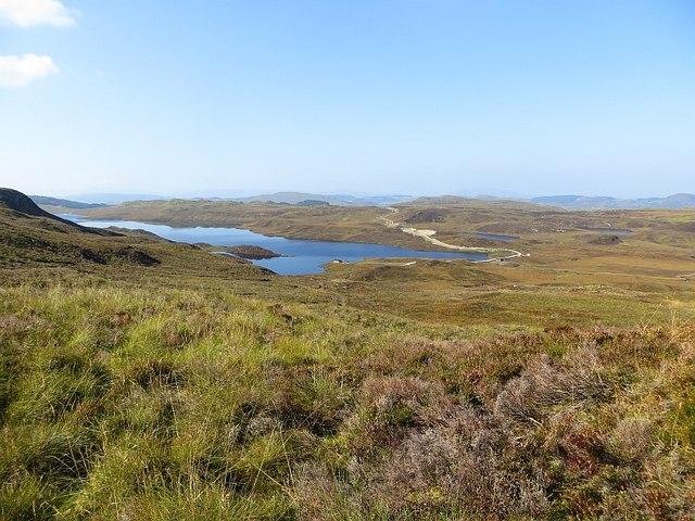 Moorland above the Bealach Gaoithe