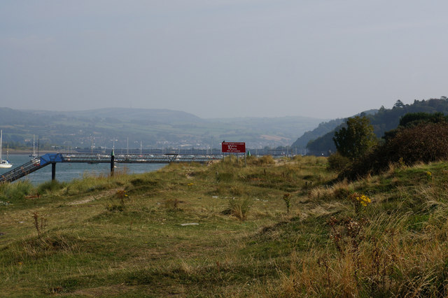 Jetty on the Afon Conwy