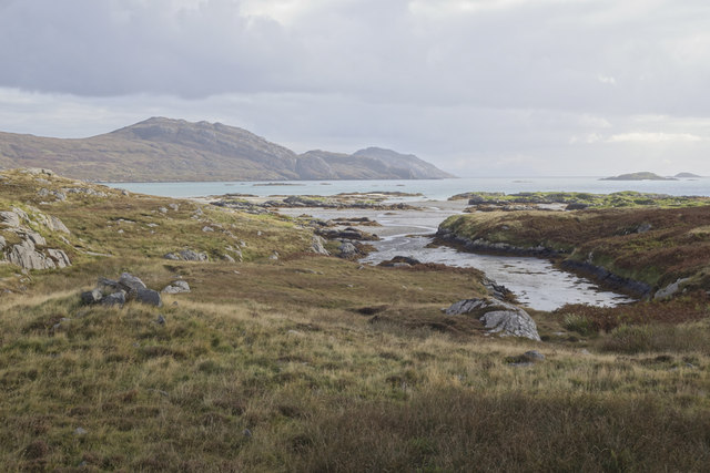 View across to Bàgh Mòr