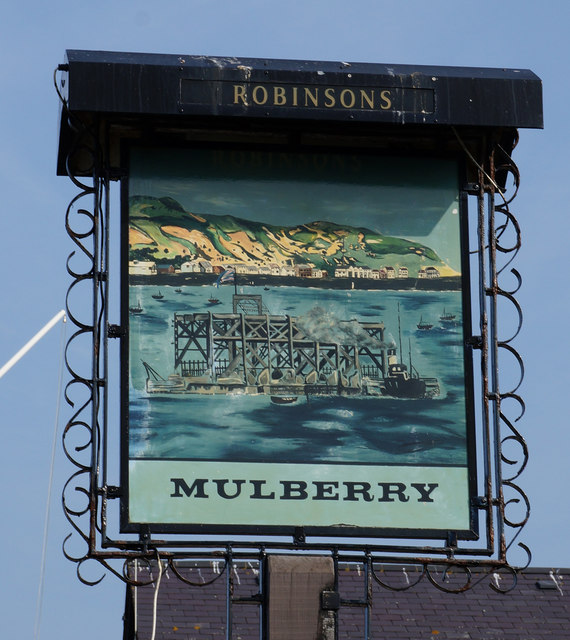 The Mulberry public house, Conwy Marina