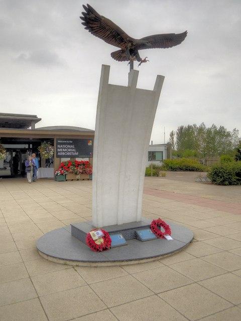 National Memorial Arboretum, Berlin Airlift Memorial