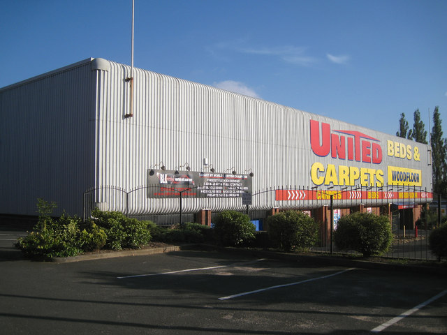 Retail furnishings warehouse, Wellington Road, Dudley