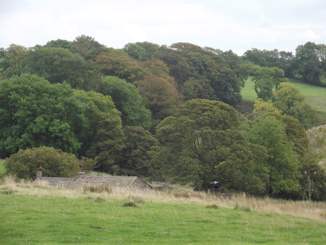 Park House nr Otterburn from field above