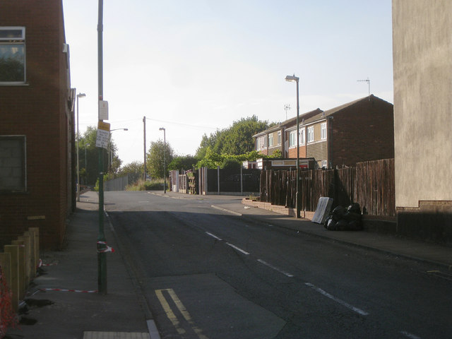 West on Waterloo Street, Dudley